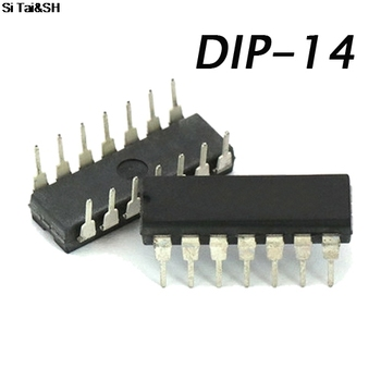 1 adet/grup CD4093BE CD4093 HEF4093/HCF4093 DIP-14 4093BE Schmitt tetik IC 15645