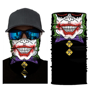 Spring Autumn Winter Cycling Motorcycle Head Scarf Neck Warmer Face Mask Ski Balaclava Headband equipement moto skull 20